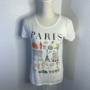 J Crew Paris Collector Tee